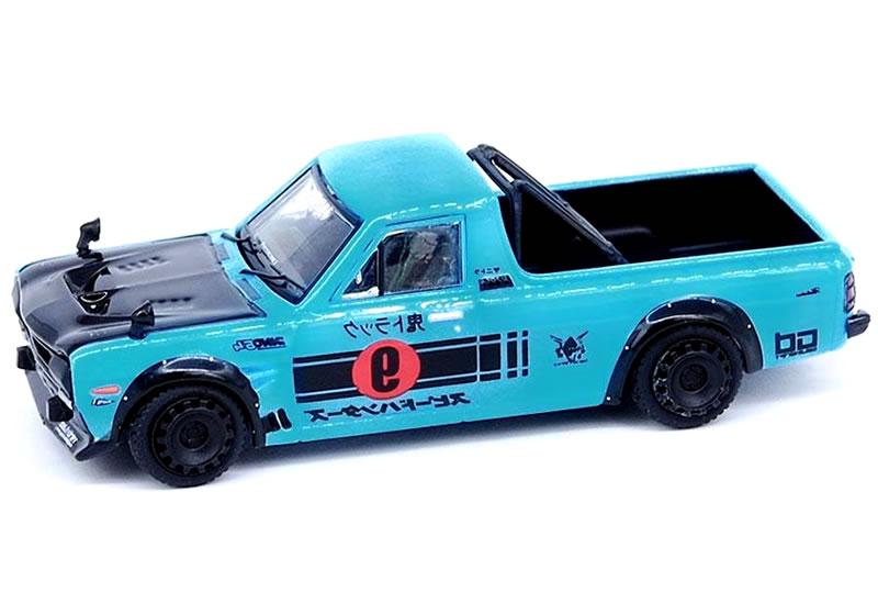 車, ミニカー・トイカー INNO Models 164 DATSUN HAKOTORA 09 RACING DECEPCIONEZ