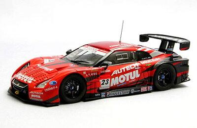 【ご予約】エブロ 1/43 スーパーGT 2011 MOTUL AUTECH GT-R No.23