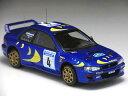HPI 1/43 スバル インプレッサ WRC No.4 スウェディッシュラリー 1997