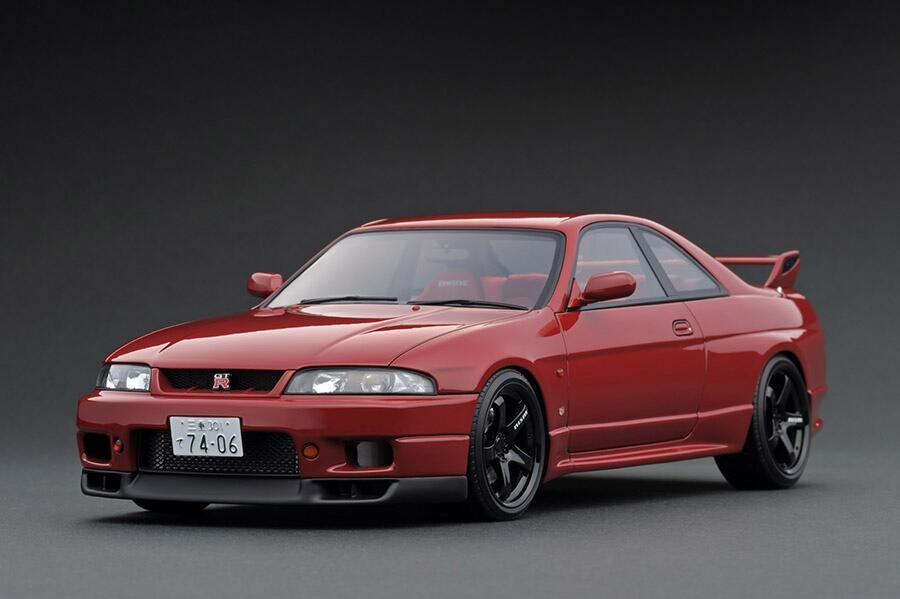 車, ミニカー・トイカー ignition model 118 GT-R (R33) (NISMO LM GT4 18)