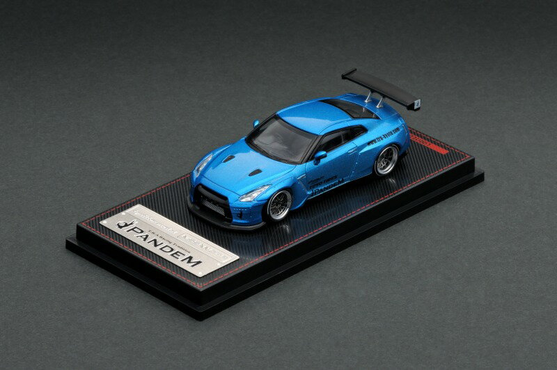 車, ミニカー・トイカー ignition model 164 PANDEM R35 GT-R (BBS LM 20)