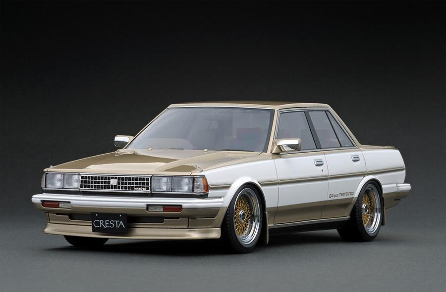 車, ミニカー・トイカー ignition model 118 GT (GX71) (BBS RS 17)