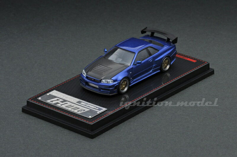 車, ミニカー・トイカー ignition model 164 Nismo R34 GT-R Z-tune (BBS LM 19)