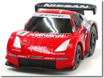 車, フリクションカー・プルバックカー Q No.3 GT 2005 XANAVI Z