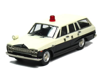 アイアイアド 1/43 スカイライン バン 警視庁 パトカー