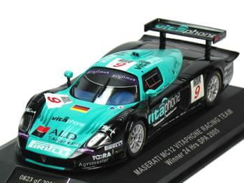 【Vitaphone特注】イクソ 1/43 マセラティ MC12 GTI No.9 スパ優勝車 2005