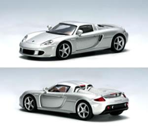 Autoart 1 / 64 Porsche Carrera GT Silver