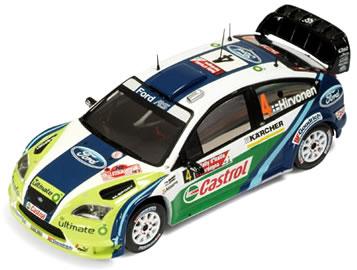 イクソ 1/43 フォード フォーカス WRC No.4 サルディニア 2位 2006