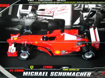 マテル1/18フェラーリF12000No.3日本GPM.シューマッハ
