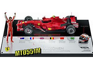 マテル 1/18 フェラーリ F1 2007 K.ライコネン ドライバーズチャンピオンシップ ブラジルGP (フ...