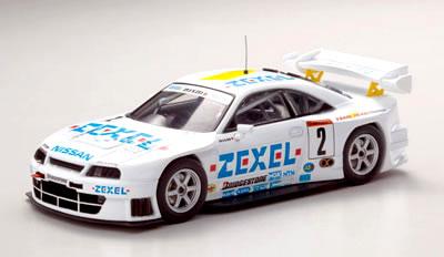 車, ミニカー・トイカー  143 JGTC 1998 ZEXEL R33 No.2