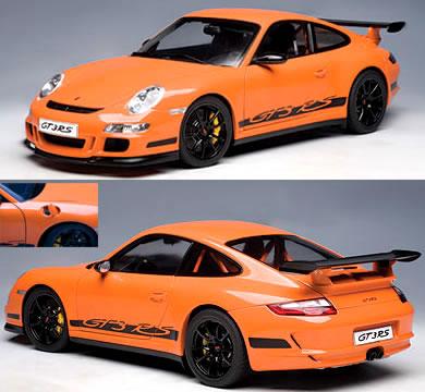 オートアート 1/12 ポルシェ 911 (997) GT3 RS オレンジ:カーホビーショップ アンサー