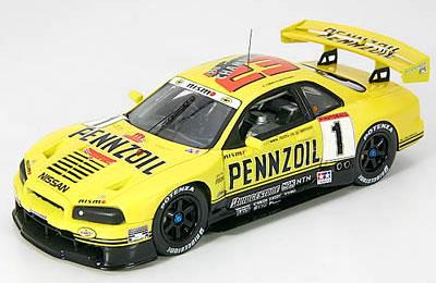 車, ミニカー・トイカー  P-4 143 JGTC 1999 PENNZOIL NISMO R34 GT-R No.1