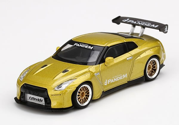 車, ミニカー・トイカー MINI GT 164 Pandem GT-R R35 GT ()