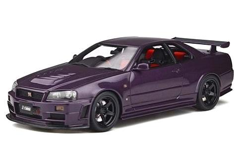 車, ミニカー・トイカー OttO mobile 118 NISMO R34 GT-R Z-tune (NISMO LM GT4)