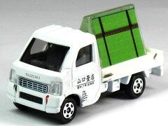【単品】トミカ スズキ キャリイ トラック 山口畳店 (ペーパークラフト ジオラマ付)