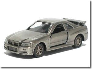 【単品】トミカ 日産 スカイライン R34 GT-R 燻し銀仕上げ