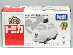 ディズニーモータース ツムツム アナと雪の女王 オラフ ツムトップ 販売店特別仕様車