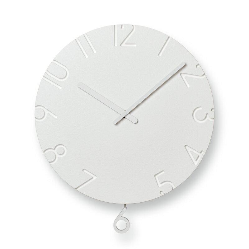 【最大10%OFFクーポン配布】レムノス CARVED SWING /NTL15-11 掛け時計 NTL15-11 おしゃれ かわいい Lemnos 日本製 モダン 北欧スタイル ウォールクロック 壁掛け時計 見やすい レトロ 掛時計 時計 デザイン デザイナーズ シンプル 誕生日 結婚祝い 出産祝い 引越し祝い 改