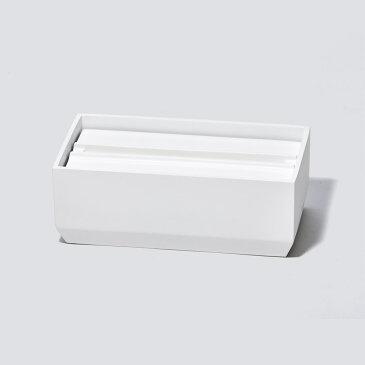 【送料無料】ideaco イデアコ トレル 140 ペーパータオルケース ティッシュケース ティッシュカバー ホワイト TOREL140-WHITE おしゃれ かわいい Torel 140 Paper Towel Case ペーパータオル入れ ペーパータオル ナプキン 紙タオル デザイン デ