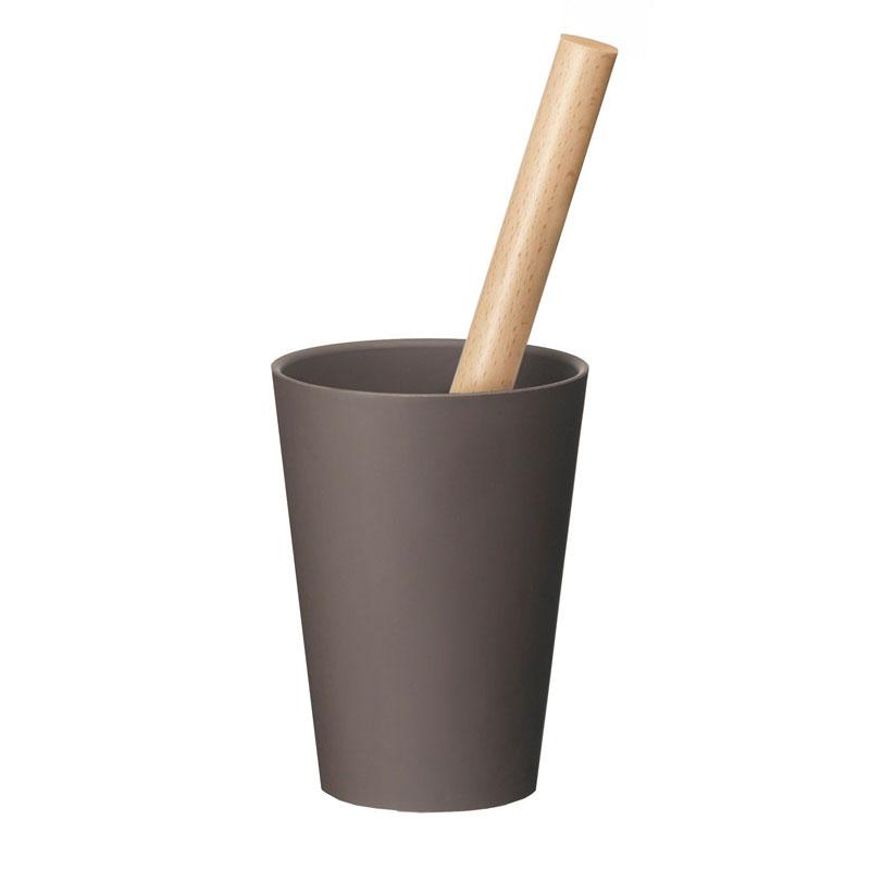 P10倍 4/21 9:59まで tidy ティディ コップ・ロールクリーナー ブラウン コロコロ粘着ローラー ほこり取り CL-665-100-4 母の日 おしゃれ かわいい 茶 クリーナー 掃除 Kop Roll Cleaner ティディー シンプル