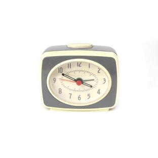キッカーランド Kikkerland クラシックアラームクロック グレー 目覚まし時計 時計 KAC14GR おしゃれ かわいい Classic Alarm Clock ユニーク ニューヨーク アメリカ アメリカン おもしろ ギフト 誕生日プレゼントの画像