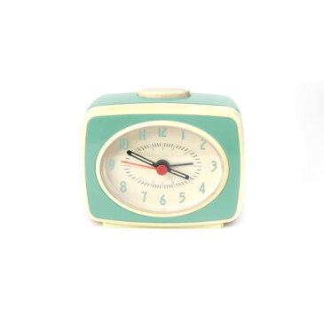 この商品が【10%割引】になるクーポンあり!キッカーランド クラシックアラームクロック ミント 目覚まし時計 時計 KAC14MN クリスマス おしゃれ かわいい キッカーランド社 kikkerland Classic Alarm Clock ユニーク ニューヨーク アメリカ アメリカン雑貨 おもしろ