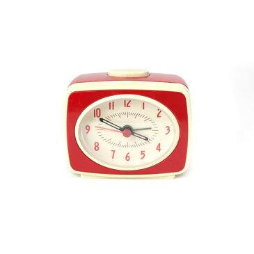 この商品が【10%割引】になるクーポンあり!キッカーランド クラシックアラームクロック レッド 目覚まし時計 時計 KAC14RD クリスマス おしゃれ かわいい キッカーランド社 kikkerland Classic Alarm Clock ユニーク ニューヨーク アメリカ アメリカン雑貨 おもしろ