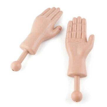 【10%OFFクーポン対象】タイニーハンド 小さな人の手 2個セット おしゃれ かわいい ミニ 人 手のひら 小さな 手 肉球 おもしろ 雑貨 おもちゃ
