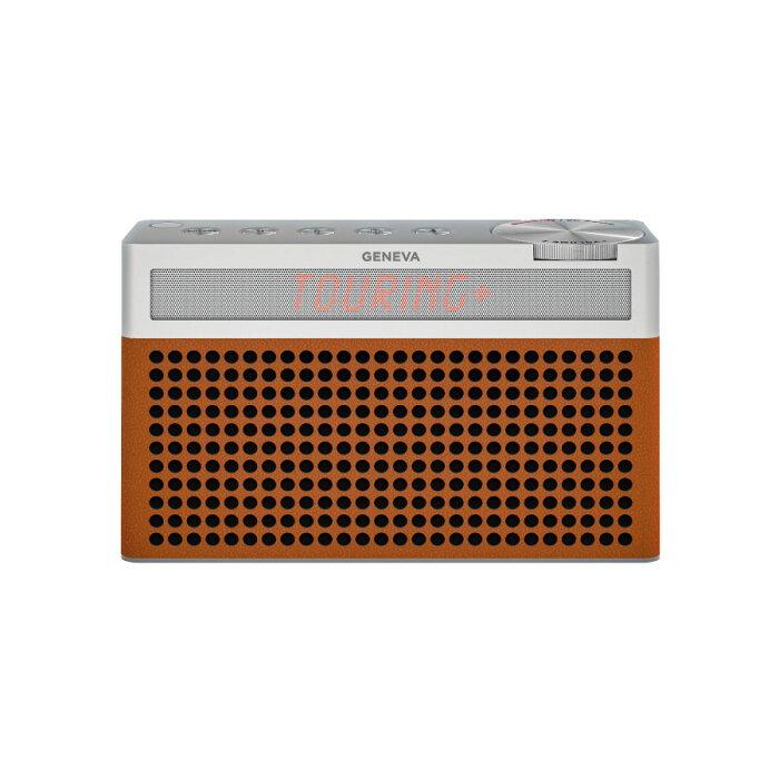 【777円クーポン対象】【送料無料】Geneva ジェネバ Touring S+ FMラジオ Bluetooth ポータブルスピーカー コニャック 875419016696JP ハロウィン