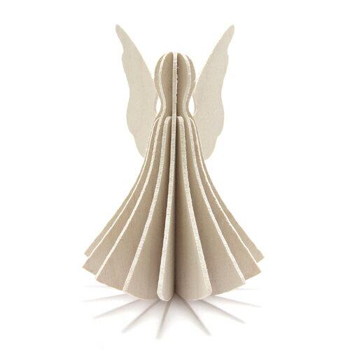 紙製品・封筒, グリーティング・カード 100Lovi ANGEL 9.5cm AN95-WH