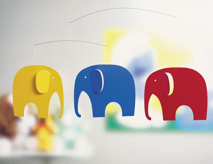 【200円クーポン対象】フレンステッドモビール FLENSTED MOBILES Elephant Party 象 ゾウ 象 ぞう 71 ホワイトデー おしゃれ かわいい 北欧 インテリア 雑貨 北欧雑貨 フレンステッド モビールズ モビール 天井
