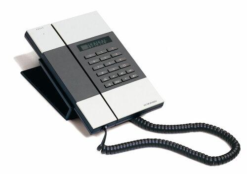 ヤコブ・イェンセン JACOB JENSEN T-3電話機 シルバーで 電話 日用品 お中元
