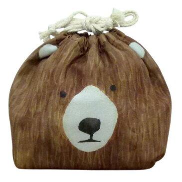 お弁当袋 おかおきんちゃく クマ 保冷ランチ巾着 KT-KAO-KUMA 4511546083601 クリスマス おしゃれ かわいい