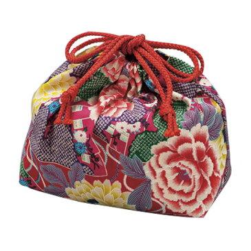 巾着袋 扇ローズ 4964026538168 クリスマス おしゃれ かわいい