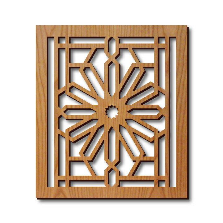 配膳用品・キッチンファブリック, 鍋敷き 100 Frank Lloyd Wright FLW Design