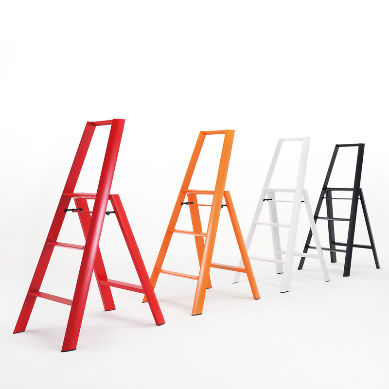 【10%OFFクーポン配布中】ルカーノ 3-Step スリーステップ 脚立 踏台 lucano メタフィス metaphys 長谷川工業 脚立 踏み台 踏台 梯子 はしご グッドデザイン おしゃれ かわいい lucano メタフィス