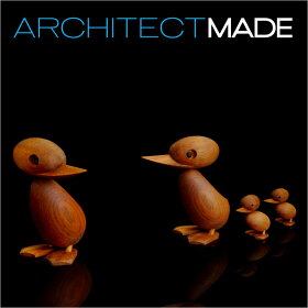 ArchitectMADE(アーキテクトメイド)DuckSmall【ダックスモールアヒル木おもちゃオブジェ置き物コペンハーゲンヨーロッパ北欧デザイン】