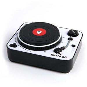 ガマゴ ターンテーブルキッチンタイマー GamaGO レコードプレーヤー Gama-GO LPレコード タイマ...