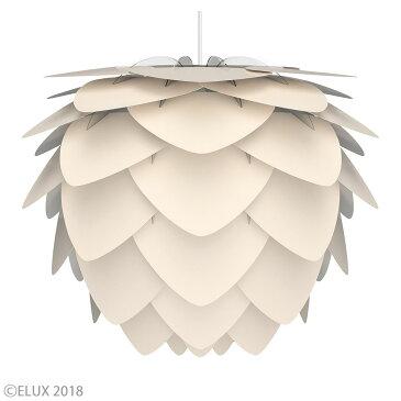 UMAGE(ウメイ) Aluvia pearl white(ホワイト) (3灯/ブラックコード) ペンダントライト 02127-BK-3 お年賀 おしゃれ かわいい VITA ヴィータ デンマーク 照明器具 シーリングライト ライト ランプ 北欧 モダン シンプル 間接照明 天井照明