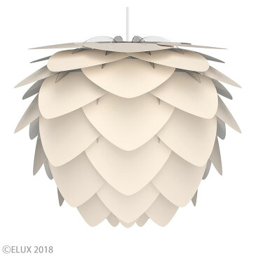 UMAGE(ウメイ) Aluvia pearl white(ホワイト) (3灯/ホワイトコード) ペンダントライト 02127-WH-3 お年賀 おしゃれ かわいい VITA ヴィータ デンマーク 照明器具 シーリングライト ライト ランプ 北欧 モダン シンプル 間接照明 天井照明