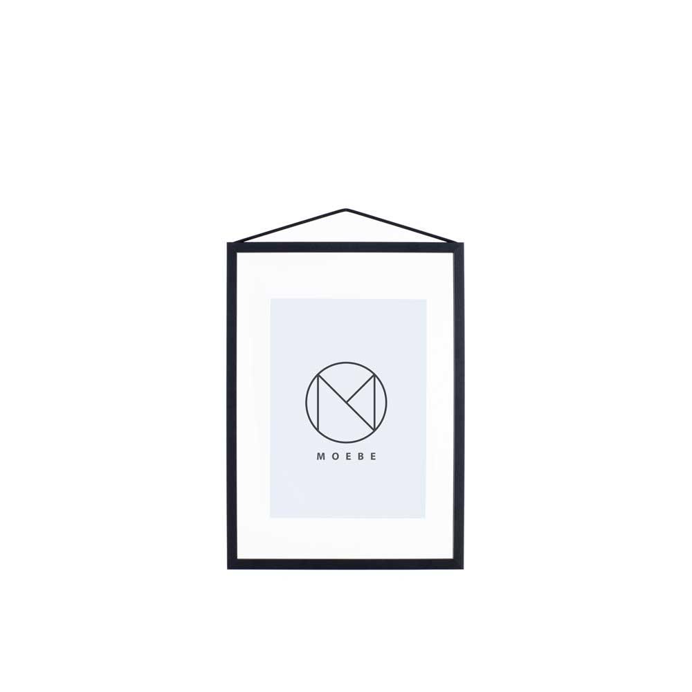ムーべ MOEBE フレーム A4 ブラック FABA4 おしゃれ かわいい 黒 FRAME 額縁 フレーム 大きい 玄関 海 アンティーク 額 写真立て フォトフレーム 北欧 インテリア 雑貨 北欧雑貨 デンマーク デザイナ