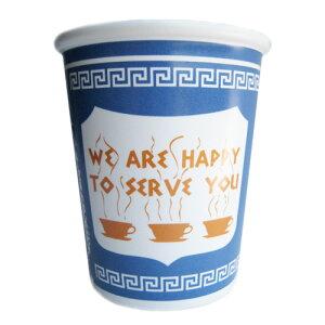 ★ニューヨークコーヒーカップ WE ARE HAPPY TO SERVE YOU 【マグカップ MoMA取扱 ニューヨーク...