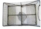 お得なクーポンあり!さがみや漁網店 籠網(黒) 漁具 かご網 魚仕掛け 漁網 日本製 G-11