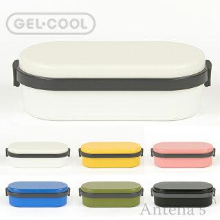 《全6色》GEL-COOLDOMEL保冷剤一体型ランチボックス
