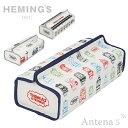 《全3色》HEMING'S tente トーマス&フレンズ FACE/THOMAS LINE/TIDMOUTH ティッシュケース 【THOMAS & FRIENDS ヘミングス テンテ デザイン雑貨 リビング インテリア】