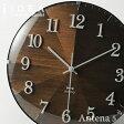 《全2色》BRUNO 2WAYグラデーションウッドクロック 【ブルーノ IDEA LABEL イデアレーベル 掛時計 壁時計 デザイン雑貨 ウォールクロック お祝い 北欧 置時計】