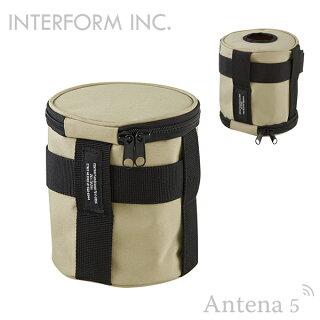 《全3色》INTERFORMマルチケースRoderickLW-3249ロードリックロールペーパーケースビニール袋収納ケース