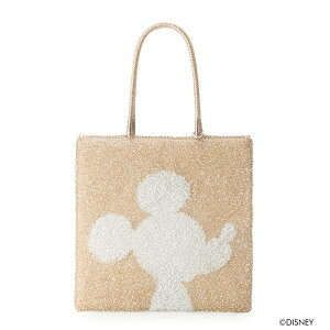 [ANTEPRIMA Official] Anteprima Wire Bag Disney Mickey Large Aurora White x Silver Gold [Online Store Pre-sale Color] ANTEPRIMA WIREBAG PB20SJC1L4 Tote Bag Ladies