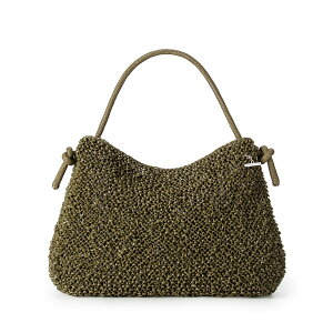 [ANTEPRIMA Official] Anteprima Wire Bag Node Medium Matt Olive ANTEPRIMA WIREBAG PB20SJB3D4 Ladies Handbag